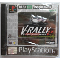 V-RALLY CHAMPIOSHIP EDITION 2 PER PS1 NUOVO