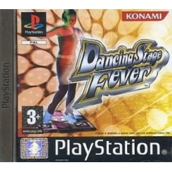 DANCING STAGE FEVER PER PS1 NUOVO