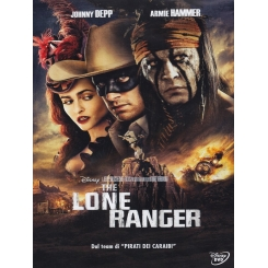 THE LONE RANGER DVD DISNEY