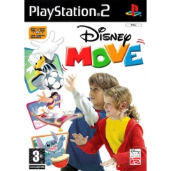 DISNEY MOVE per Ps2 Nuovo