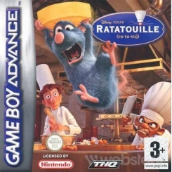 DISNEY RATATOUILLE (RA-TA-TUJ) PER GAMEBOY ADVANCE NUOVO DA NEGOZIO!
