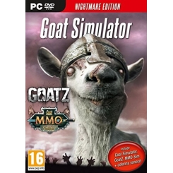 GOAT SIMULATOR NIGHTMARE EDITION PER PC NUOVO