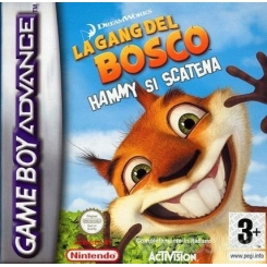 LA GANG DEL BOSCO - HAMMY SI SCATENA PER GAMEBOY ADVANCE NUOVO