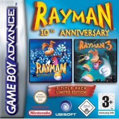 RAYMAN 10TH ANNIVERSARY PER GAMEBOY ADVANCE USATO
