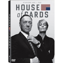 HOUSE OF CARDS - STAGIONE 1 E STAGIONE 2  IN DVD