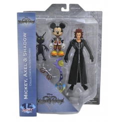 KINGDOM HEARTS SELECT MICKEY/AXEL/SHADOW AF SET 15TH ANNIVERSARY