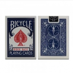 BICYCLE RIDER BACK MAZZO DI CARTE BLU