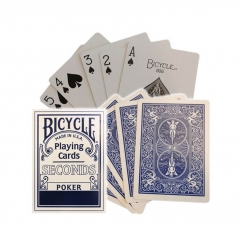 BICYCLE SECONDS DECK BLU - MAZZO DI CARTE