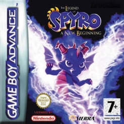SPYRO A NEW BEGINNING PER GAMEBOY ADVANCE USATO