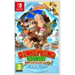 DONKEY KONG COUNTRY TROPICAL FREEZE PER NINTENDO SWITCH NUOVO