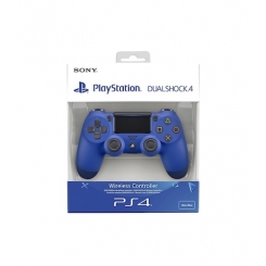 CONTROLLER PS4 LED BLU + GOMMINI ANALOGICI