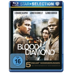 BLOOD DIAMOND + THE ISLAND 2 BLU-RAY
