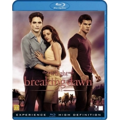 BREAKING DAWN THE TWILIGHT SAGA PARTE 1 BLU-RAY