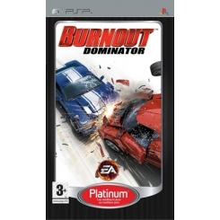 BURNOUT DOMINATOR PSP PLATINUM USATO