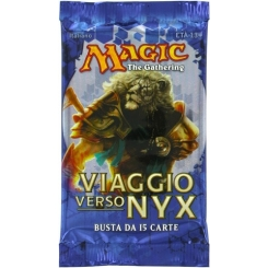 BUSTINA DA 15 CARTE VIAGGIO VERSO NYX MAGIC THE GATHERING ITALIANE