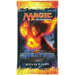 BUSTINA DA 15 CARTE SET BASE 2014 MAGIC THE GATHERING