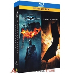 COFANETTO BATMAN IL CAVALIERO OSCURO + BATMAN BEGINS  BLU-RAY