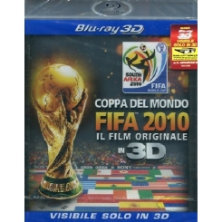 COPPA DEL MONDO FIFA 2010 IL FILM ORIGINALE IN 3D BLU-RAY