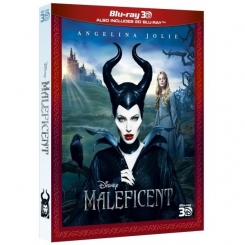 DISNEY MALEFICENT - MALEFICA BLU-RAY + BLU-RAY 3D