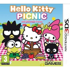 HELLO KITTY PICNIC PER NINTENDO 3DS NUOVO
