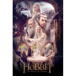 LO HOBBIT AN UNEXPECTED JOURNEY POSTER 61X91CM