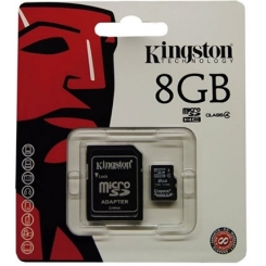 Micro SD Kingston con Adattatore 8GB