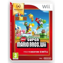 NEW SUPER MARIO BROS WII PER NINTENDO WII SELECTS