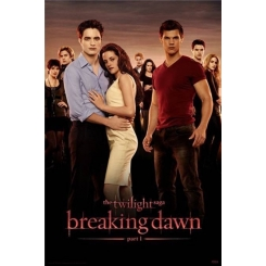 POSTER BREAKING DAWN THE TWILIGHT SAGA 61X91 CM