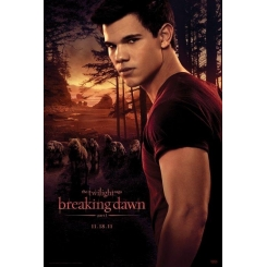 POSTER DI JACOB THE TWILIGHT SAGA BREAKING DAWN PARTE 1 61x91