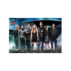 POSTER DI THE BIG BANG THEORY 61x91 CM