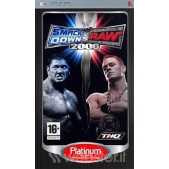 SMACKDOWN VS RAW 2006 PLATINUM PER PSP NUOVO